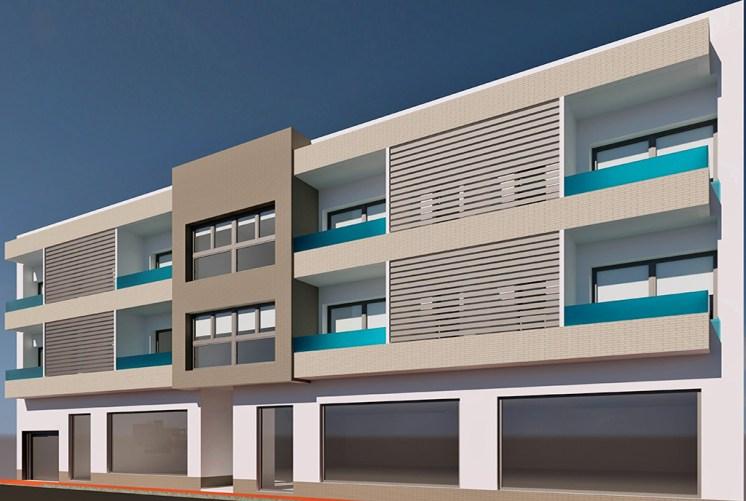 prestiżowy apartamentowiec, w którym mieści się oferowany do sprzedaży luksusowy apartament Hiszpania (Bigastr)