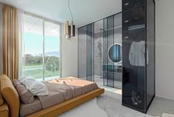komfortowa sypialnia w luksusowym apartamencie na sprzedaż Hiszpania (Orihuel)