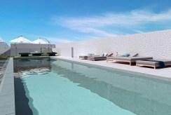 basen przy ekskluzywnym apartamencie do sprzedaży Hiszpania (Orihuel)