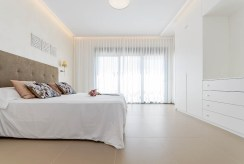 zaciszna sypialnia w luksusowej rezydencji na sprzedaż Hiszpania (Campoamo)