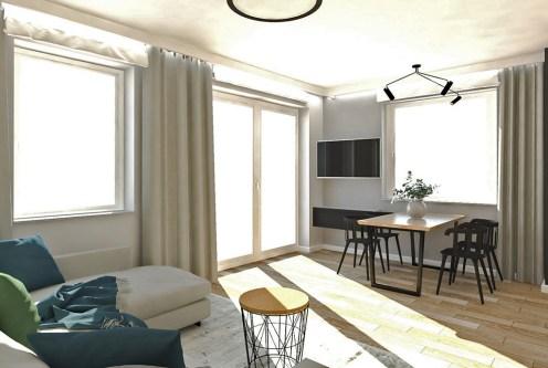 przestronne i słoneczne wnętrze luksusowego apartamentu na sprzedaż Ostrów Wielkopolski