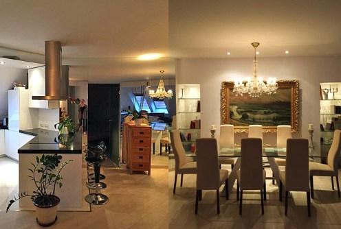 prestiżowy salon w luksusowym apartamencie do wynajmu Wrocław