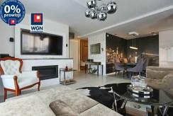 prestiżowy salon w luksusowym apartamencie na sprzedaż Trójmiasto