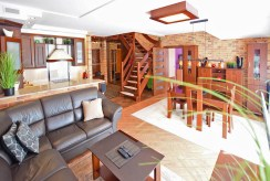 komfortowy pokój dzienny w luksusowym apartamencie na sprzedaż Suwałki