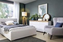 elegancka sypialnia w luksusowym apartamencie do sprzedaży Grudziądz