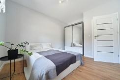 cicha i elegancka sypialnia w ekskluzywnym apartamencie na wynajem Bolesławiec