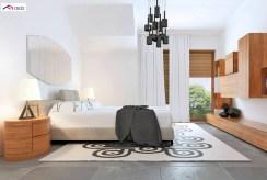 elegancka sypialnia w luksusowej willi do sprzedaży Kalisz