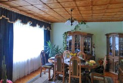 elegancki pokój dzienny w luksusowej willi na sprzedaż Częstochowa (okolice)