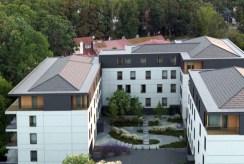rzut z góry na osiedle, na którym znajduje się luksusowy apartament na sprzedaż Mazury
