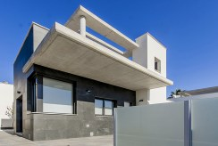 nowoczesna bryła luksusowej willi do sprzedaży Hiszpania (Lorca)