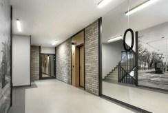 korytarz w apartamentowcu, gdzie mieści się oferowany na sprzedaż luksusowy apartament do sprzedaż Gdańsk
