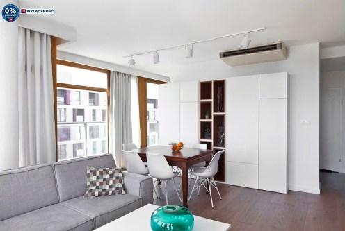 nowoczesna aranżacja wnętrza ekskluzywnego apartamentu na sprzedaż Legnica