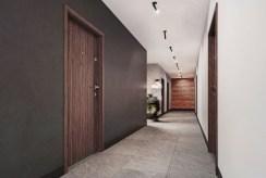 fragment hol prowadzący do luksusowego apartamentu na sprzedaż Legnica