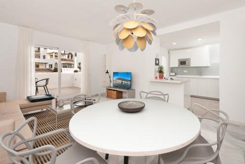 imponujące wnętrze ekskluzywnego apartamentu na sprzedaż Hiszpania
