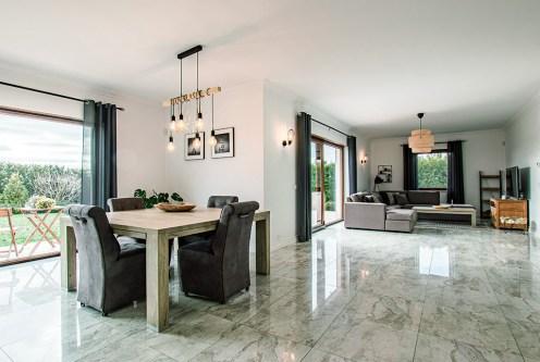 funkcjonalny rozkład pomieszczeń w luksusowej rezydencji na sprzedaż Poznań (okolice)