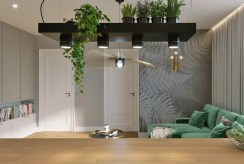 stylowa jadalnia w luksusowym apartamencie do wynajęcia Częstochowa