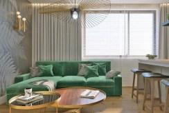 fragment pokoju gościnnego w luksusowym apartamencie na wynajem Częstochowa