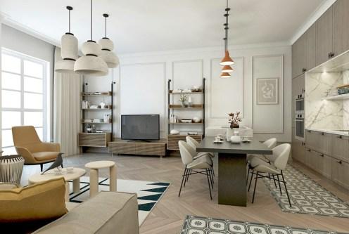 zaprojektowane z wyczuciem smaku wnętrze ekskluzywnego apartamentu do sprzedaży Kalisz