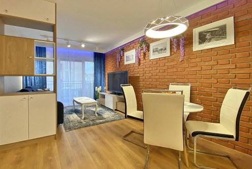 prestiżowy salon w ekskluzywnym apartamencie do wynajęcia Szczecin