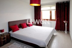 prywatna sypialnia w ekskluzywnym apartamencie na wynajem Szczecin