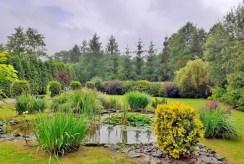 pieczołowicie zadbana działka z ogrodem wokół ekskluzywnej willi do sprzedaży Częstochowa (okolice)