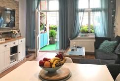 zbliżenie na salon w ekskluzywnym apartamencie na sprzedaż Świdnica