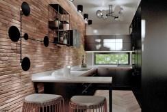nowoczesna aranżacja kuchni w ekskluzywnym apartamencie na sprzedaż Tarnów