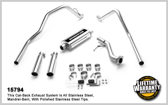 Magnaflow kit Chev.Silverado C/K1500 – 4,3l – 4,8l