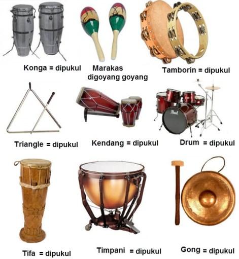 15 Alat Musik Ritmis Tradisional Dan Modern Dari Berbagai Daerah