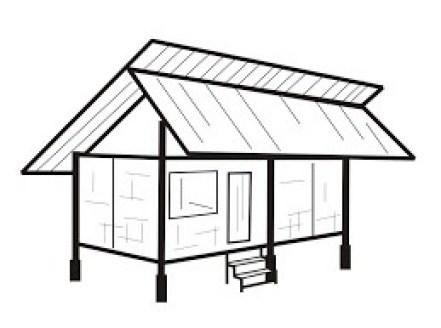 9500 Koleksi Gambar Animasi Rumah Tradisional HD Terbaru