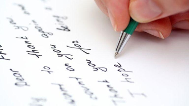 contoh surat pribadi
