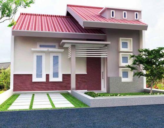 Desain Rumah Minimalis Dapur Di Depan  a 99 kombinasi warna cat rumah minimalis kece terbaru