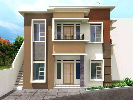 Warna Cat Rumah Minimalis Ruko a 99 kombinasi warna cat rumah minimalis kece terbaru