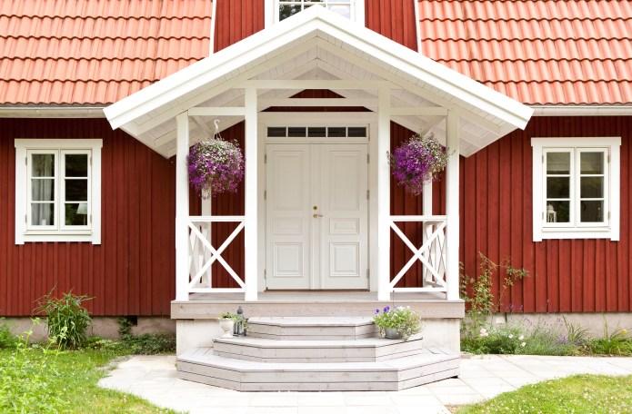 Dörrar från Ekstrands - Ytterdörr Park 870 pardörr