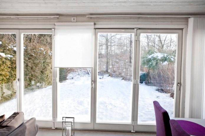Uterum med Ekstrands vikfönster
