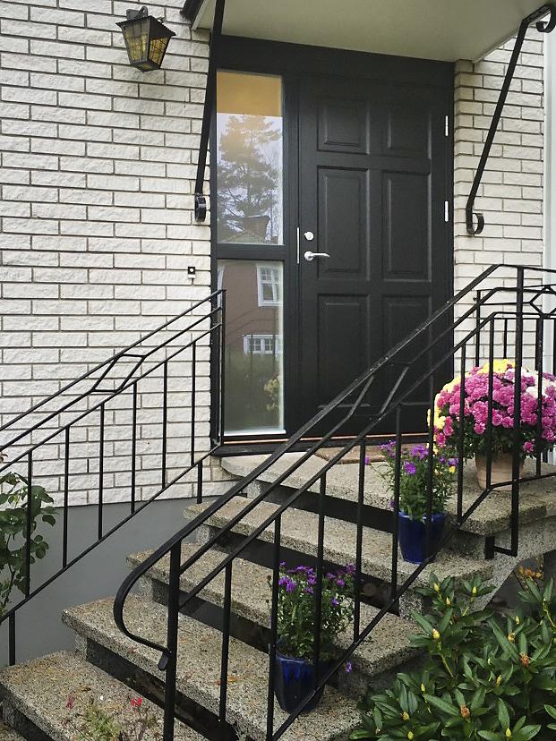 Klassiska dörrar i modell Ascot