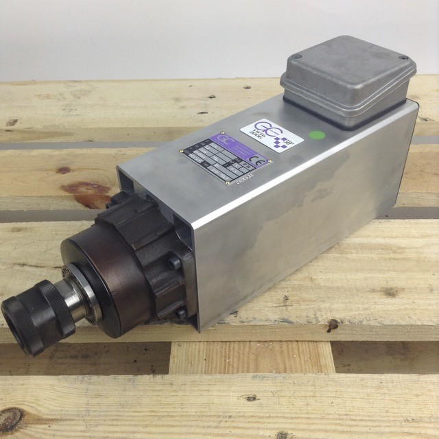 Colombo spindle, RV.90.2 router spindle, s/n 0601165, 5 HP, 24000rpm, 460v, 400 Hz