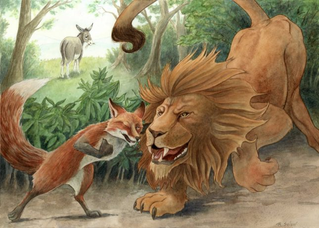 Are you a Lion or a fox?