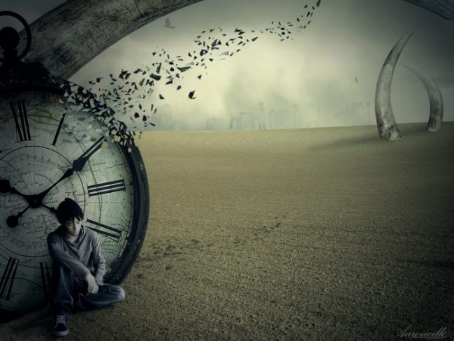 Mind creates the illusion of Time! Time does not really exist!