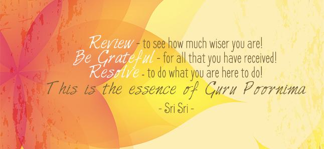 Have a 'Pure' Guru Poornima!