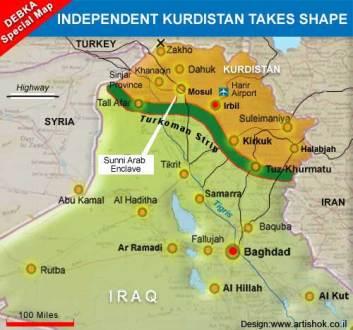 Northern Iraq Kurdish area ile ilgili görsel sonucu