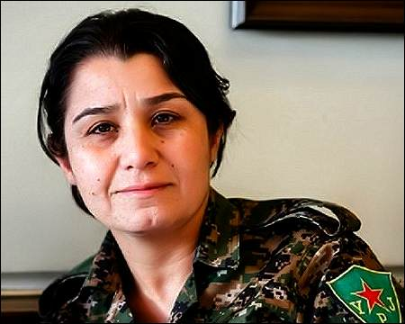Image result for Nisreen Abdullah , Women's Protection Units, photos