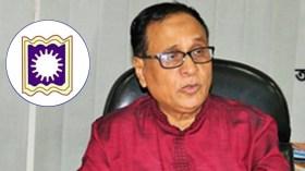 'জয় হিন্দ' স্লোগান দিয়ে বক্তব্য শেষ করলেন রাবি উপাচার্য