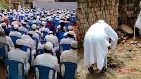 মারকাযুদ দাওয়ায় ৯ তলা ভবনের নির্মাণ কাজ উদ্বোধন