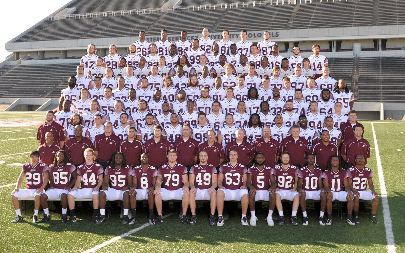 football roster also eastern kentucky university athletics rh ekusports