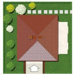 projekt-domika-archon678-plan-uchastka