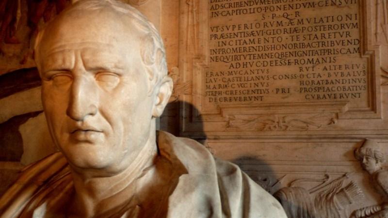 Cicerón – Momentos estelares de la humanidad (otra vez)