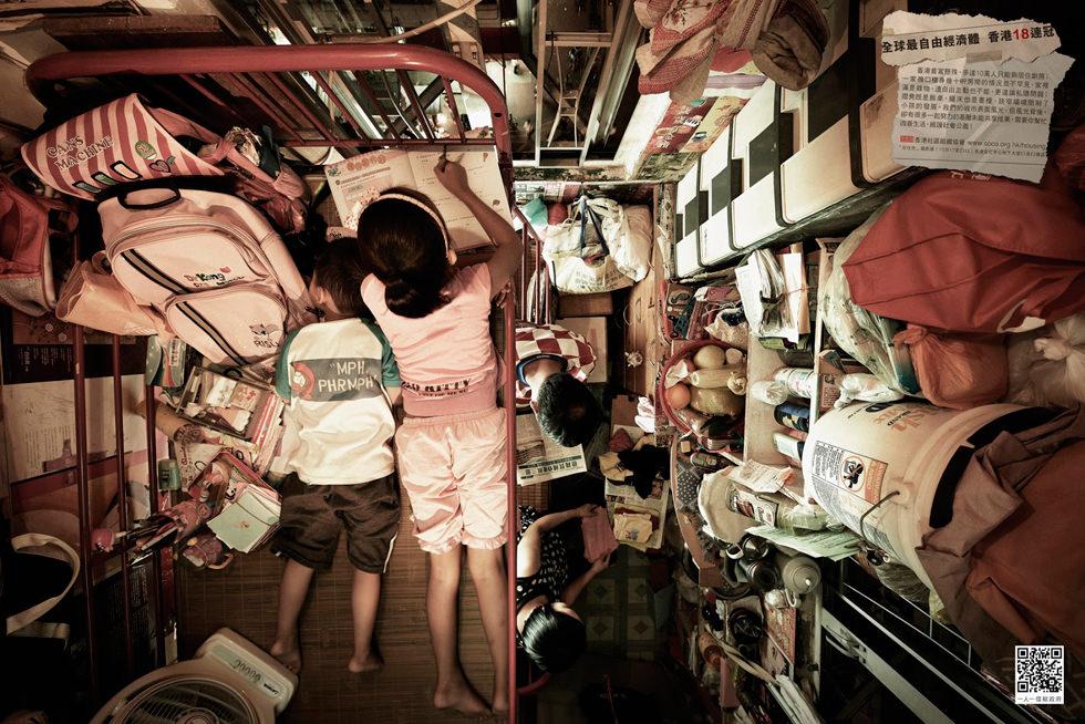 Fotografías de Hong Kong y sus diminutos espacios (Society for Community Organization)