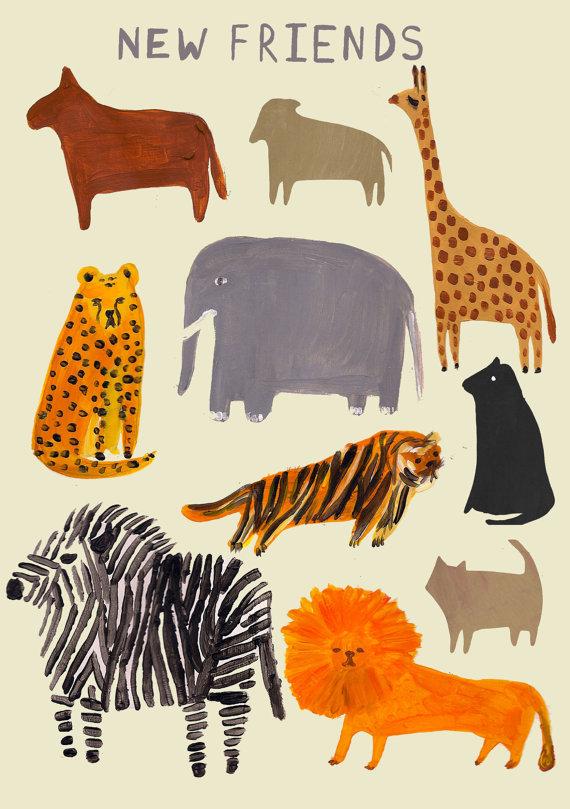 Un bestiario es un zoológico
