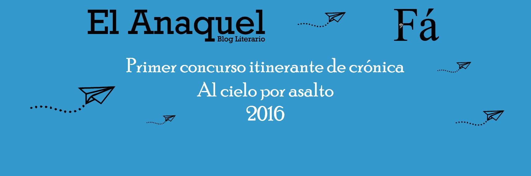 Primer concurso itinerante de crónica Al cielo por asalto 2016